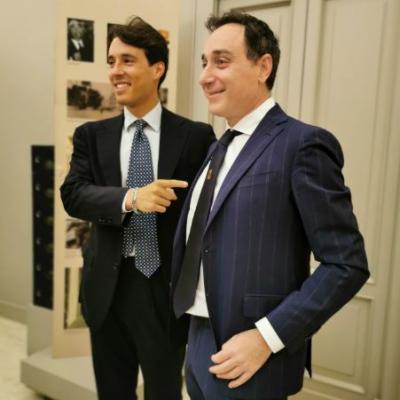 Ecco la cravatta della Città Metropolitana firmata Marinella