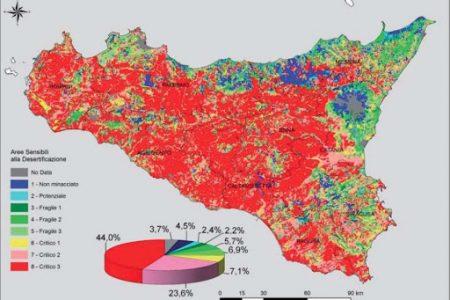 Sicilia, rischio desertificazione