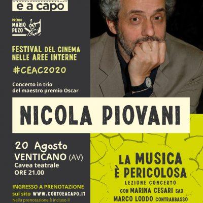 Musica e Cinema con Nicola Piovani