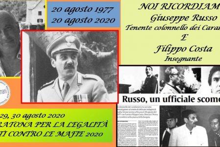 Accadde Oggi. L'omicidio di Giuseppe Russo e Filippo Costa a Corleone