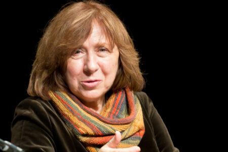 A Svetlana Aleksievič il Taobuk Award for Literary Excellence