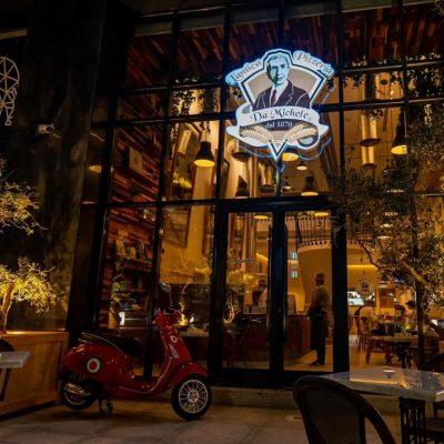 La pizzeria Michele da Napoli in Arabia Saudita