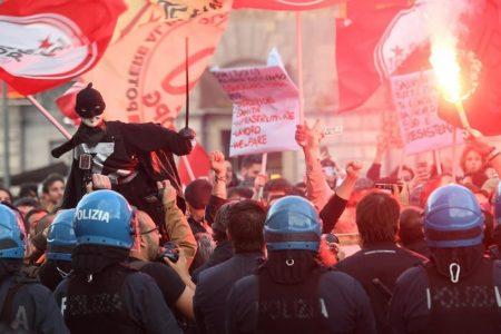 Salvini a Catania, città blindata