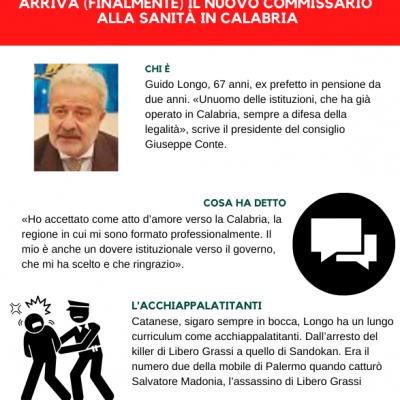 Calabria, la svolta