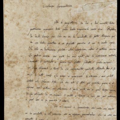 Napoli, in mostra una rara lettera di Leopardi