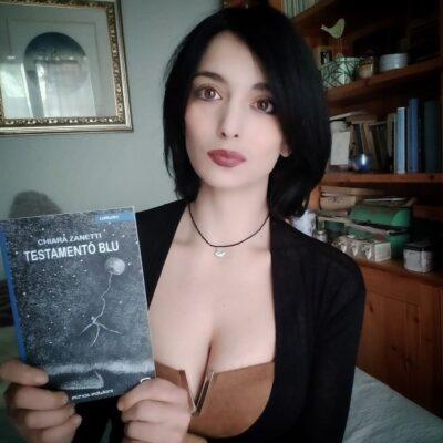"""Intervista a Chiara Zanetti  per la sua prima opera """"Testamento blu"""""""