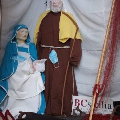"""Isola delle Femmine, BCsicilia in occasione delle festività natalizie ha realizzato il """"Presepe della speranza"""""""