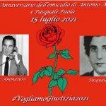 Il 39° anniversario dell'omicidio del vice questore Antonio Ammaturo e dell'agente Pasquale Paola
